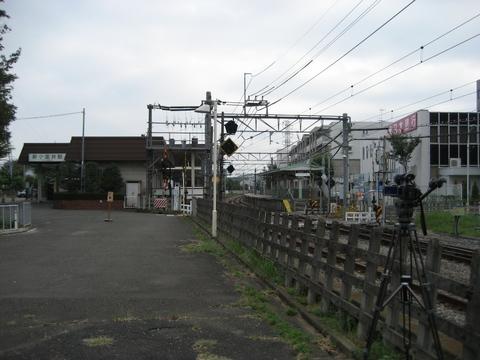 新小金井駅とHDR-FX7