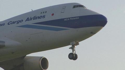 昨年8月に撮った、JA01KZの機首部分のアップ。