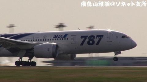 JA801A・タッチダウンの瞬間!!